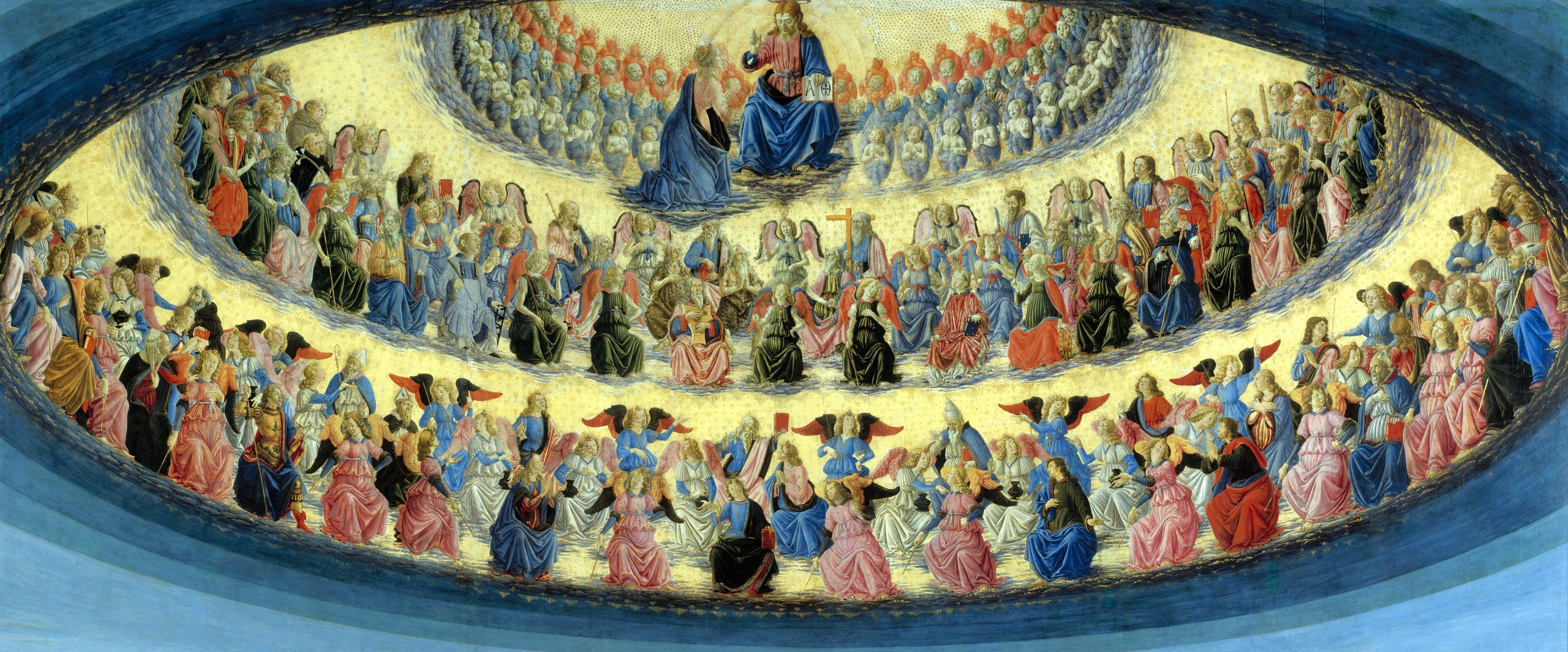 The Assumption of the Virgin, Francesco Botticini