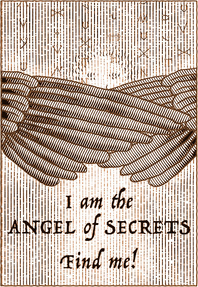 The Angel of Secrets by Theolyn Cortens, with puzzles and illustrations by Will Shaman